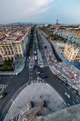Barcelona sky views