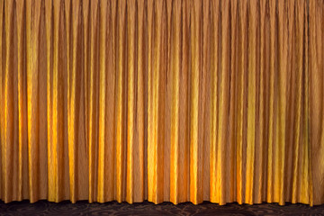The golden curtain