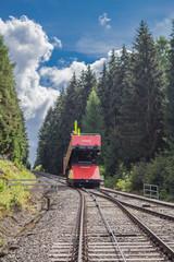 Oberweißbacher Bergbahn im Thüringer Wald