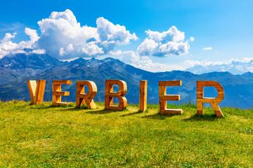 Summer in Verbier, Alps Mountains, Switzerland