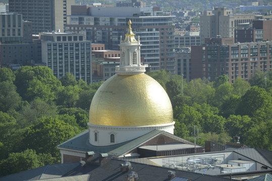 Golden Dome Massachusett Statehouse