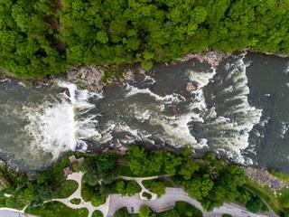 Overhead Ohiopyle Falls