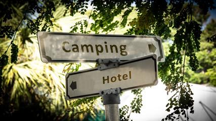 Schild 336 - Camping