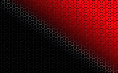 Geometric red black textural background with a grid grid.