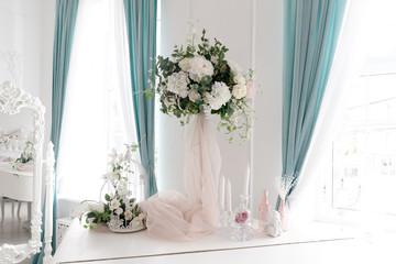 Decoration artificial flower arrangement modern bouquet wedding