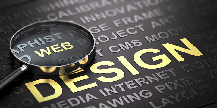 Web Design Background. Internet Communication