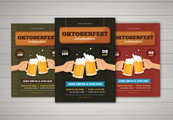 Oktoberfest Flyer Layout