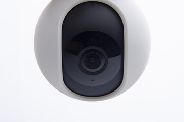 Wireless home security 360 on white background