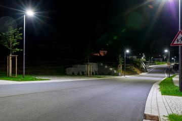 Hutthurm bei Nacht