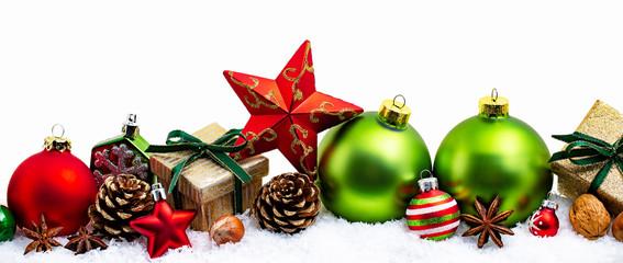 Winter und Weihnachtskarte