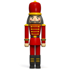 Christmas Nutcracker Soldier 3D Character