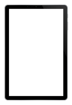 Modern Tablet PC Computer Isolated on white Background vector eps 10