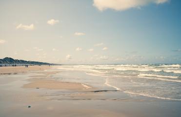 Beach by the north sea