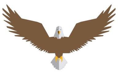 flying eagle icon | illustration