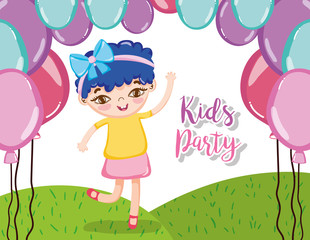 Kids party cartoons