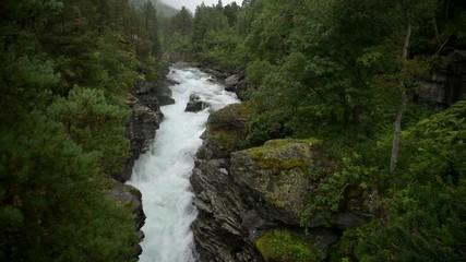 Wall Mural - Scenic Norwegian Landscape in Southwestern Norway.
