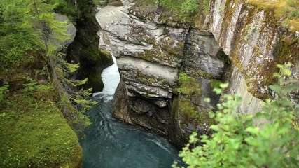 Wall Mural - Scenic River Gorge in Southwestern Norway