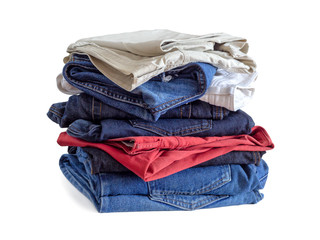 Jeans in different colors