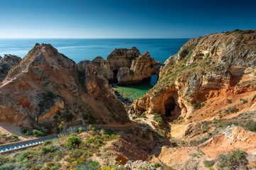 La Ponta da Piedade Lagos Algarve Portugal