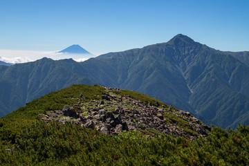 仙丈ケ岳登山
