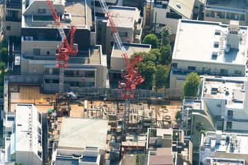 マンション 建設現場 イメージ
