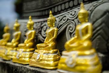 Symbol of Religious Founder, Buddha Statue.