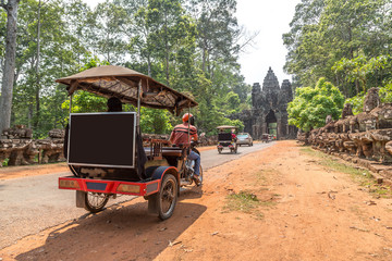 Tuk Tuk in Angkor, Cambodia