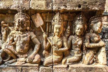 Terrace of Elephants  in Angkor Wat
