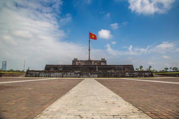 Flag Tower in Hue Citadel