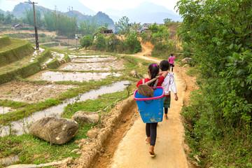 Children in Sapa, Vietnam