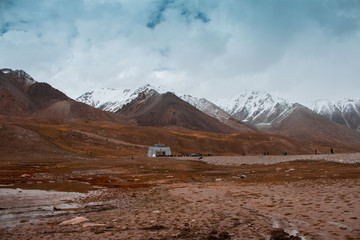 Khunjerab Pass, Pak China Border