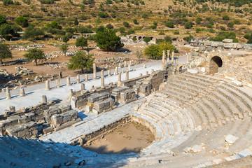 Fotomurales - Small theater in Ephesus, Turkey
