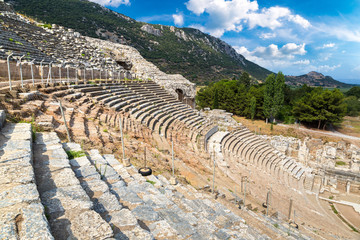 Fotomurales - Amphitheater (Coliseum) in Ephesus