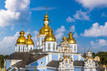 Fototapete - Saint Michael Monastery in Kiev