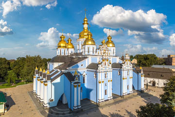 Wall Mural - Saint Michael Monastery in Kiev