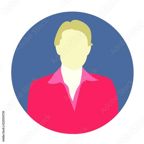 Woman Avatar Professional Icon Woman Flat Icon Woman Avatar Woman