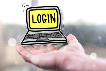 Concept of login