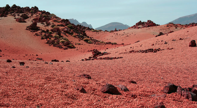 Red Planet - Mars - surface