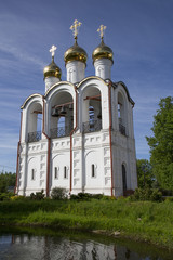 Bell Tower, Nikolsky Women's Monastery (Convent), Pereslavl-Zalessky, Golden Ring, Yaroslavl Oblast, Russia, Europe