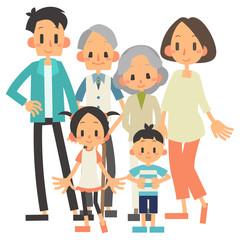 家族 3世帯
