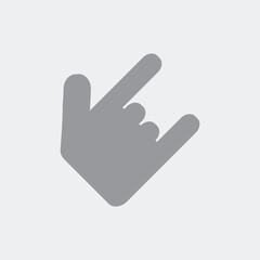 Horns gesture
