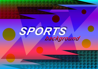 Sports abstract background,