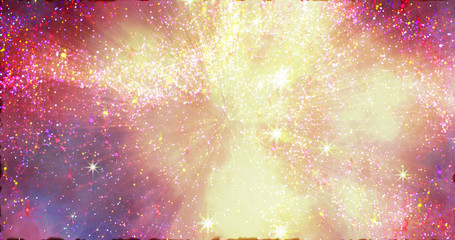 Abstract space galaxy stardust background