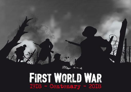 FIRST WORLD WAR - Centenary 1918 2018