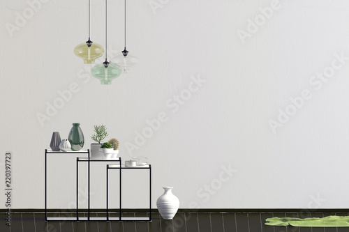 Modern office interior poster id