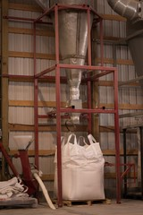 Granary machine in warehouse