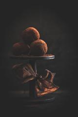Pralinen mit Kakaohülle