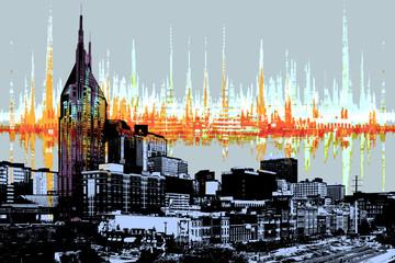Nashville Skyline Soundwave