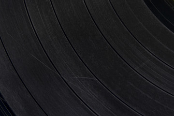 Old vinyl record surface scratched , vinyl record texture