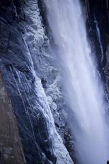 Wall Murals Waterfalls Bridalveil Falls in Yosemite